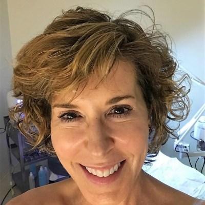 close up of woman with no makeup