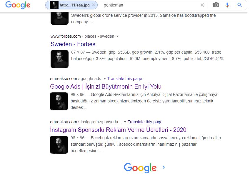 google resimle arama nasıl yapılır