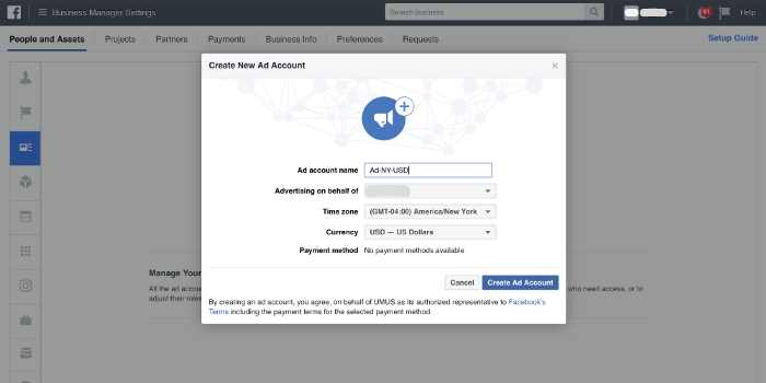 facebook reklam hesabı nasıl oluşturabilirim