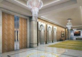 Antilia 09 - Elevators lobby