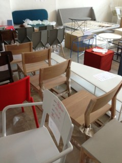 Chairs are nice IMO. Buy 4 or more and you get more discounts.
