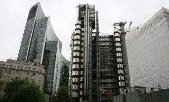 The Lloyd's Building photographed Friday, 5 September 2008. Ph: Rebecca Reid