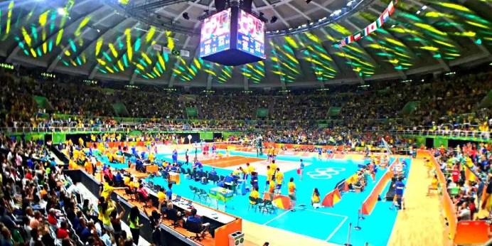 No vôlei masculino Brasil bate a Rússia e vai disputar o ouro