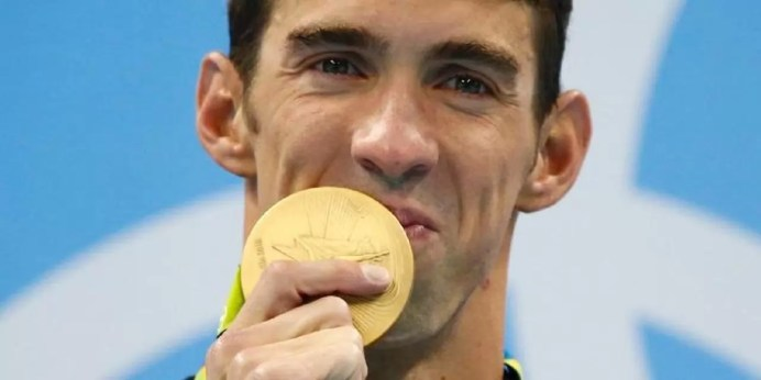 28 medalhas marca a despedida Olímpica de Michael phelps