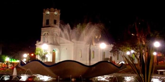 Praça da Igreja de Taquaritinga