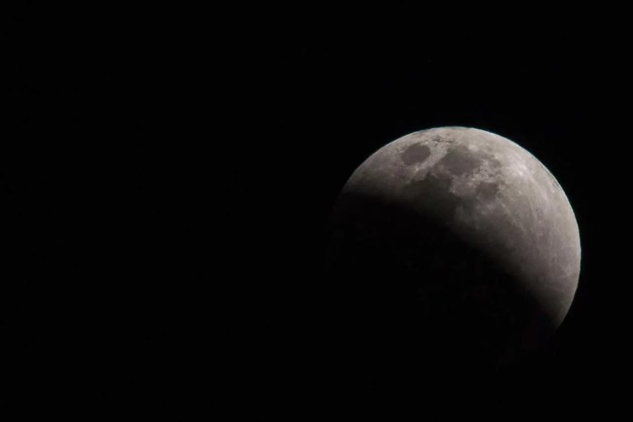 Eclipse lunar poderá ser visto em Ribeirão Preto