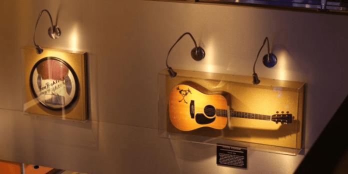 Exposição de Instrumentos Hard Rock Café Ribeirão Preto