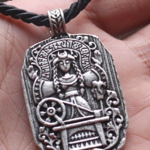 Norse Goddess Frigg Necklace