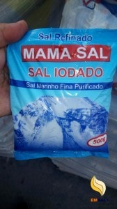 small bags salt