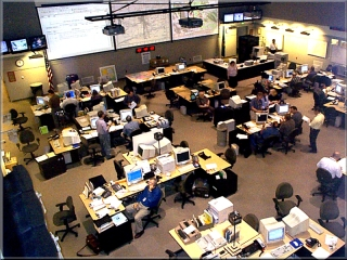 WA state EOC from above. Pic courtesy of Washington National Guard