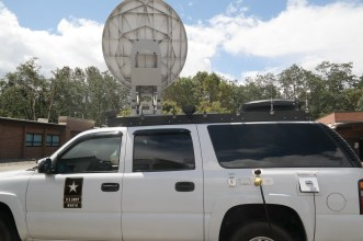 North Command's mobile satellite.