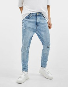 Carrot fit jeans