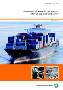 EEA Report: Movements of waste across the EU's internal and external borders
