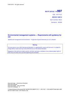 ISO 14001 CD2