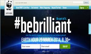 Earth Hour 2014: 29 March 2014