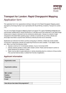 Energy Saving Trust's Chargepoint Mapping 2014