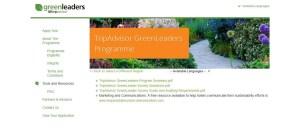 TripAdvisor GreenLeaders Programme