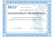 ISSP Sustainability Professional Certification