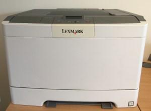 Lexmark Colour Laser Printer - Original or Second-hand?