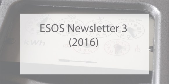 ESOS Newsletter Issue 3 2016