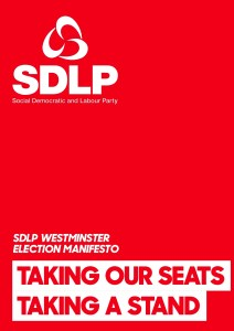 Social Democratic and Labour Party Manifesto 2017