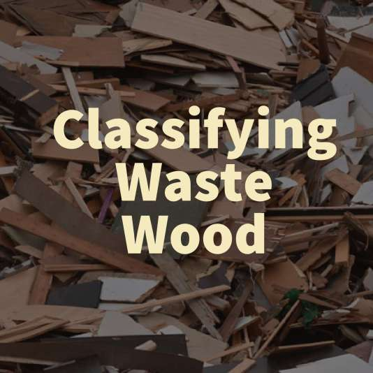 Classifying Waste Wood