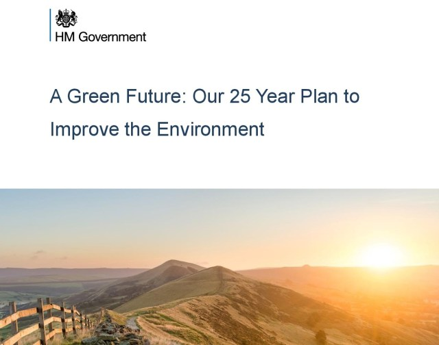 A Green Future: Our 25 Year Plan to Improve the Environment