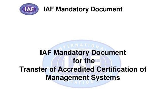 IAF MD 2:2017