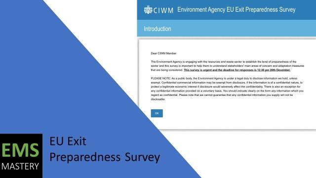 EU Exit Preparedness Survey