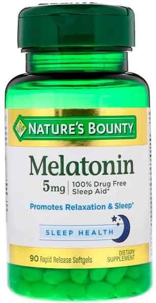 Melatonina Natures Bounty