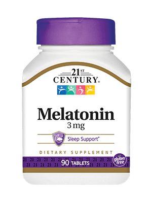 Melatonina 3mg 21st century