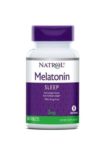 Melatonina 3 mg – Natrol –  60 Comprimidos
