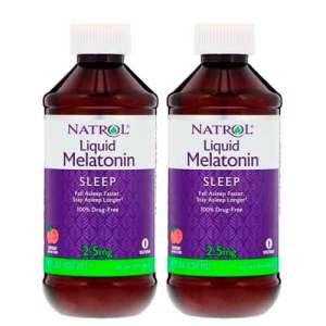 Melatonina liquida 2.5mg Natrol- 237ml