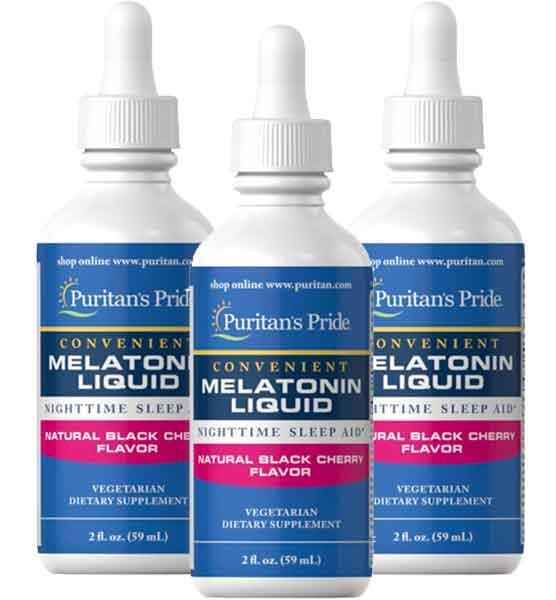 Melatonina líquida 1 mg Puritan's Pride 59ml