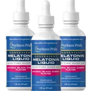 Melatonina líquida 1mg Puritan's