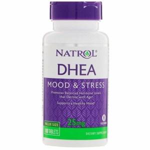 DHEA 25 mg - NATROL - 180 comprimidos