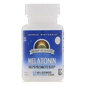Melatonina 2.5mg Source Naturals
