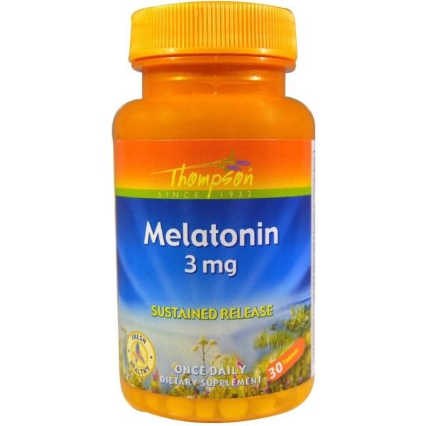 Melatonina Thompson 3mg 30 comprimidos