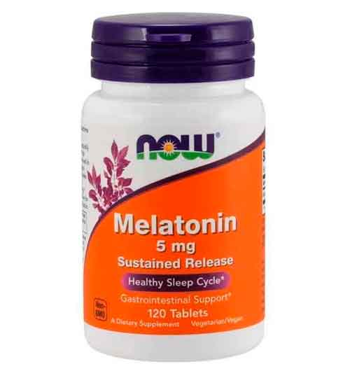 Melatonina 5mg Now foods