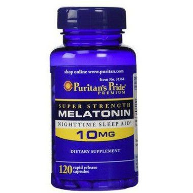 Melatonina 10mg Puritans Pride