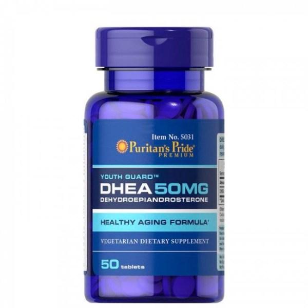 Dhea 50mg Puritan's Pride - 50 Comprimidos