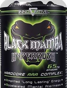 Black Mamba Fat Burner Hyper Rush, Innovative Laboratories, 90 Caps
