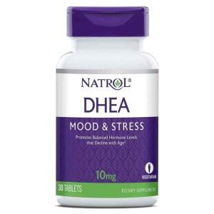 DHEA Natrol 10mg 30 comprimidos