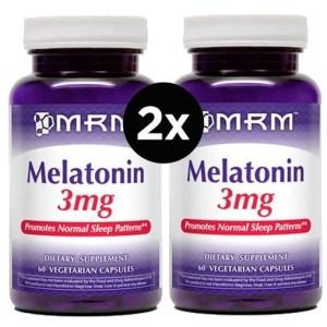 Melatonina 3 mg MRM 60 Capsulas