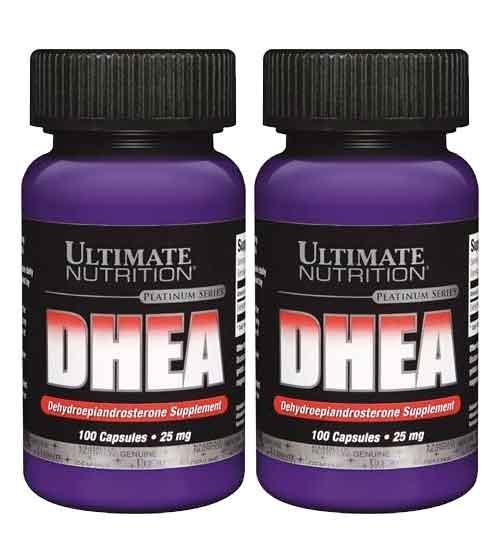 DHEA 25mg Ultimate Nutrition 100 Cápsulas