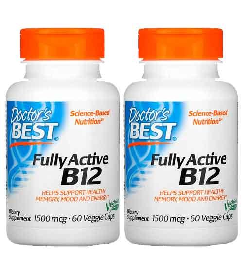 Vitamina B12 Doctor's Best