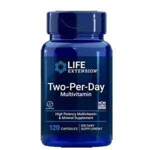 Two-Per-Day Life Extension 120 Cápsulas