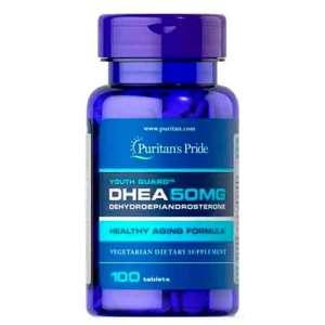 Dhea Puritan's Pride 50mg 100 Comprimidos – Leve 1 Frasco