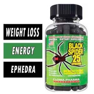 Cloma Pharma Black Spider 100 Ephedra Cápsulas