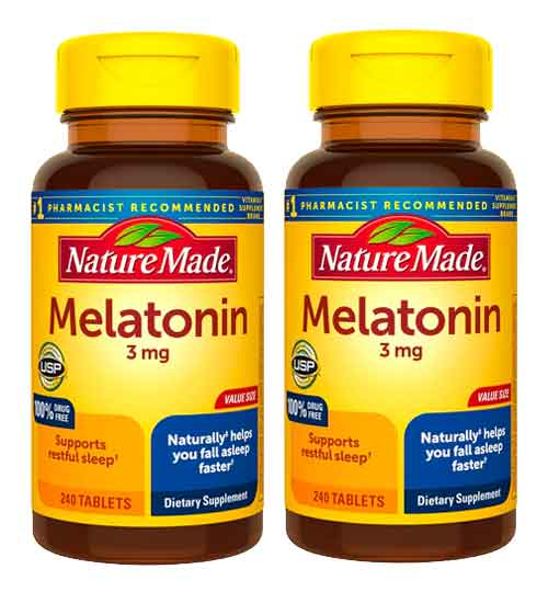 Privado: Melatonina Nature Made 3mg, 240 Comprimidos – Leve 1 Frasco
